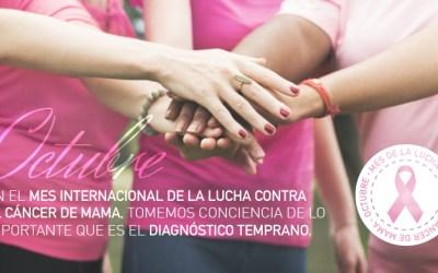 Mes internacional de la lucha contra  el cáncer de mama.