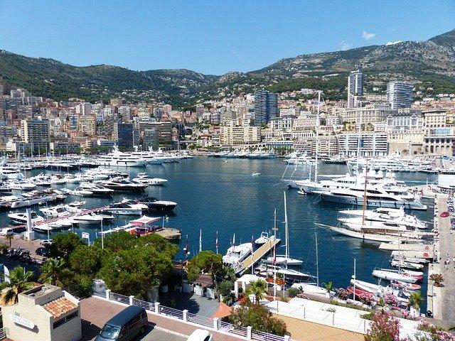 Monaco close to Villa Ad Alta