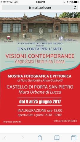 Visioni contemporanee dagli Stati Uniti e da Lucca