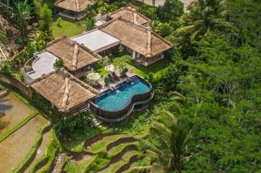 Villa Amrita Aerial Shot