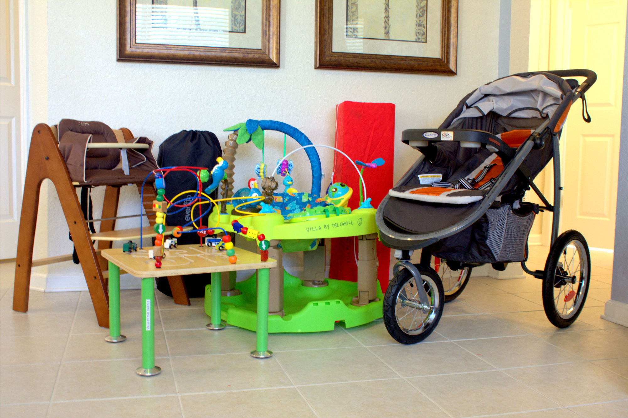Villa By The Castle Baby Equipment  Villa By The Castle