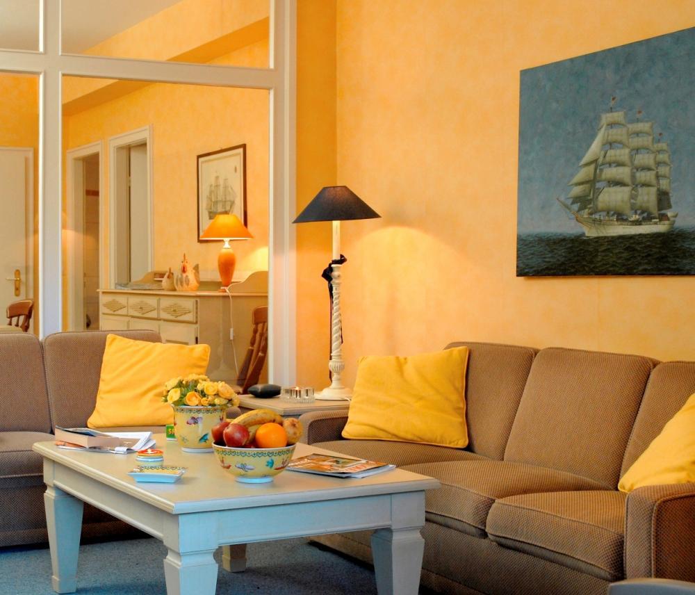 Wandfarben Wohnzimmer Mediterran | Haus Design Ideen