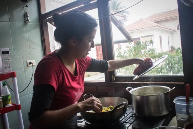 Claudia Michel, programadora de actividad cultural y creadora culinaria en La Mosquita Muerta