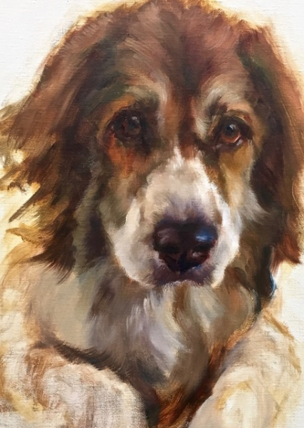 Bella by Johanne Mangijpeg  Originals  All Artwork  Johanne Mangi  Village Arts Of Putney
