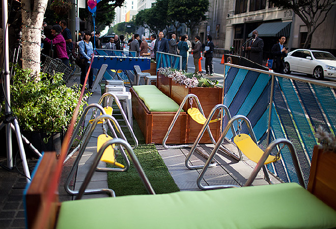 parklet, sherman oaks, BID, SFV, People's Street