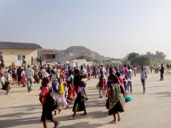 Civilians Seek Protection after Fighting in the Capital City of Juba
