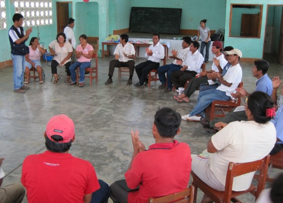 Maintaining accountability to the grassroots in community development projects