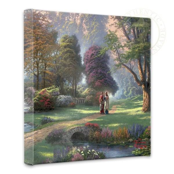 Thomas Kinkade Painting Walk of Faith