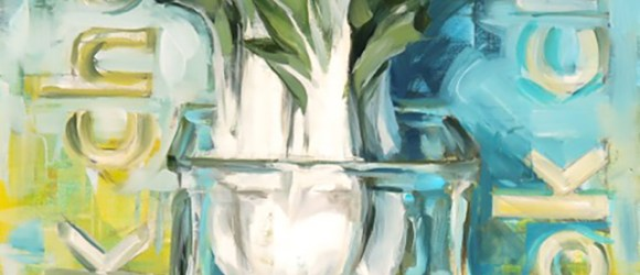 Image of artwork of value and color class with Annie Salness