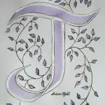 Image of calligraphy by Susan Pfahl