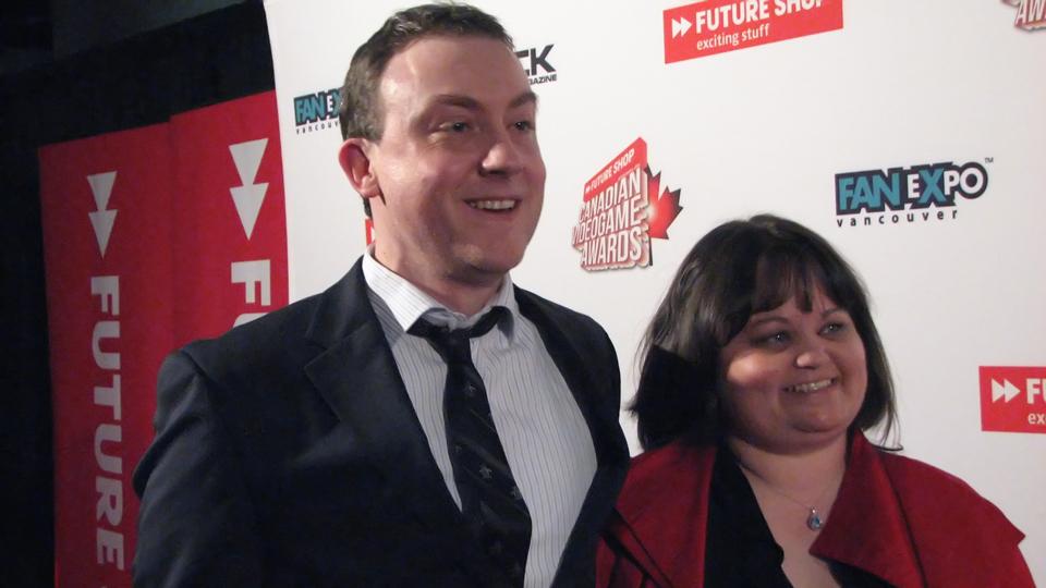 Daniel Sewell and Jennifer Francoeur