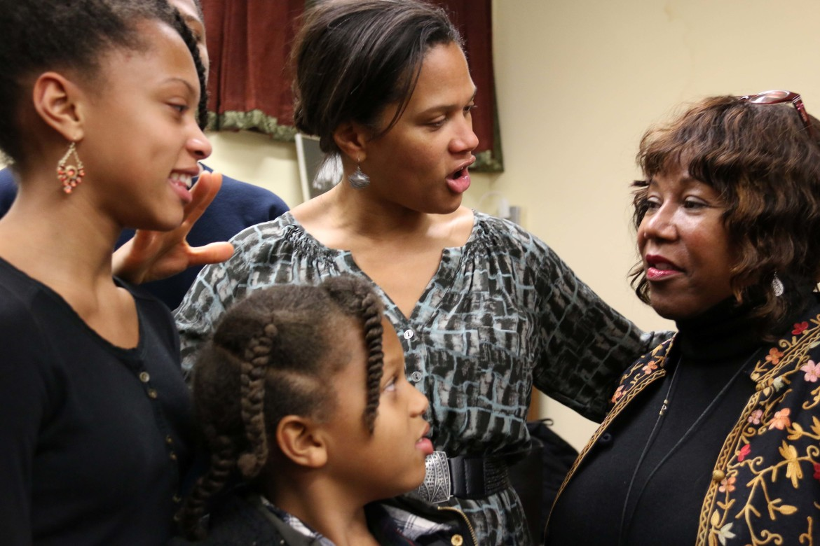 Photos Ruby Bridges Tells Crowd Racism Is A Grown Up