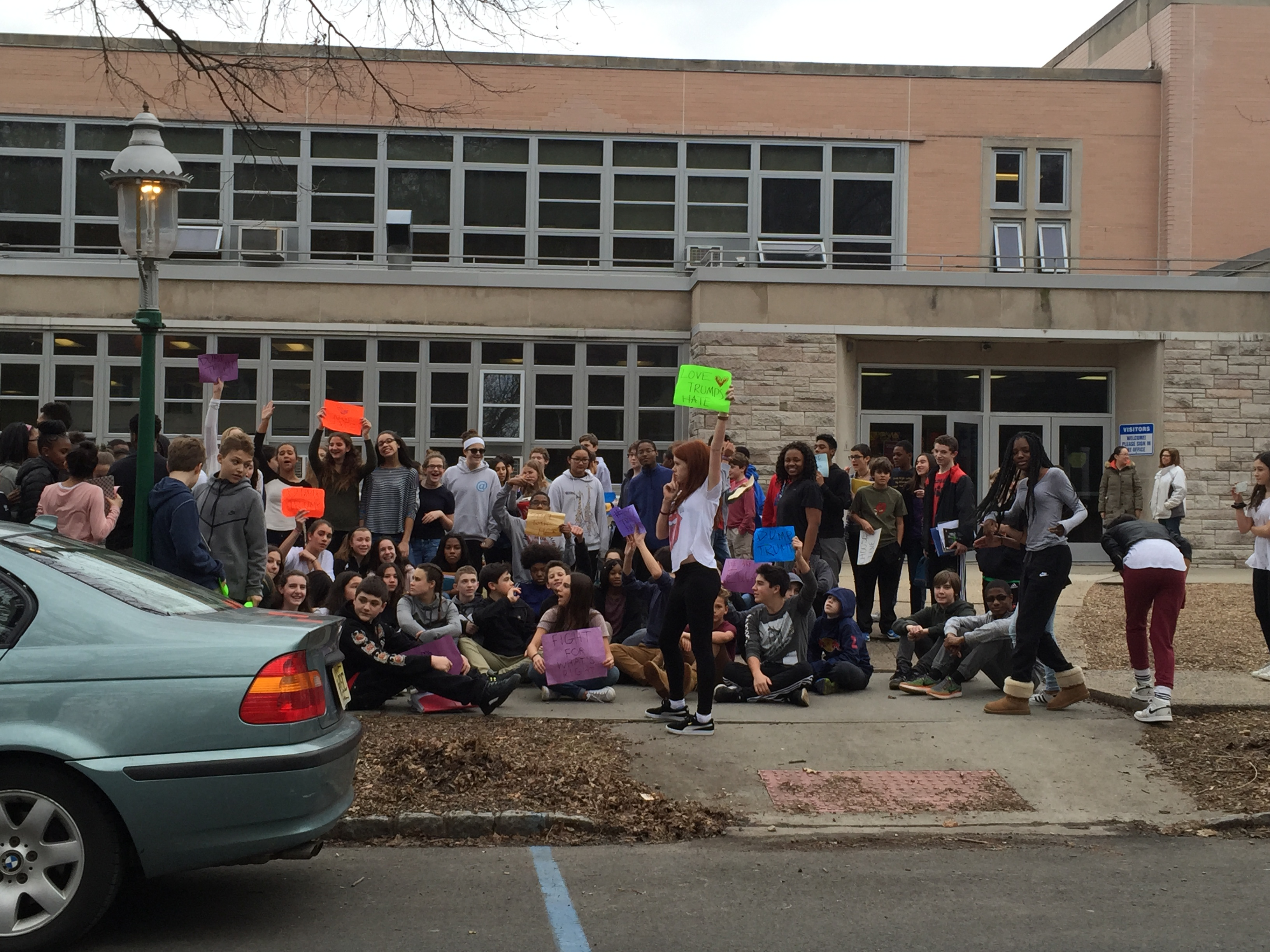 PHOTOS South Orange Middle School Students Stage Anti
