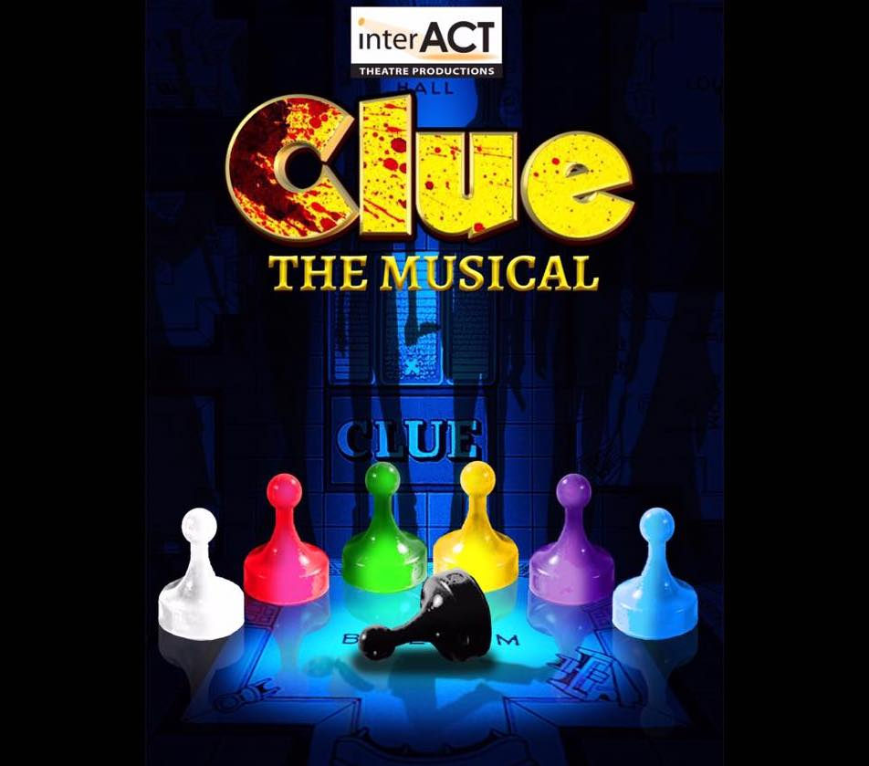 InterACT Theatre Presents Clue The Musical at the Baird