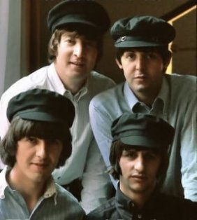 music-hats-beatles