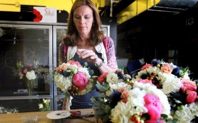 Flower design drew event planner back to the business she loved