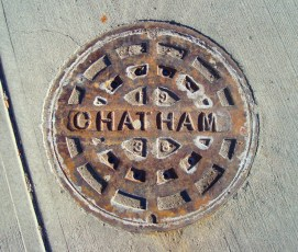 1938 Chatham manhole cover