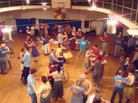Chatham monthly Contra Dance at the Morris Memorial community center