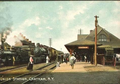 1916 - Chatham Depot