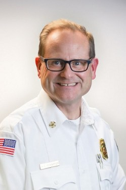 Portrait of Tony Schaffer, Fire and Rescue Division Fire Chief