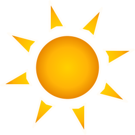 This image has an empty alt attribute; its file name is sun.png