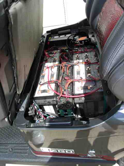 2005 Ez Go Marathon Wiring Diagram Golf Cart Travels 114 Miles On Lithium Charged Battery