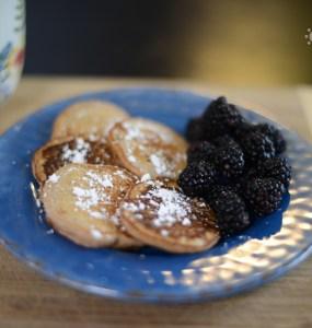 Whole Wheat Cinnamon Pancakes