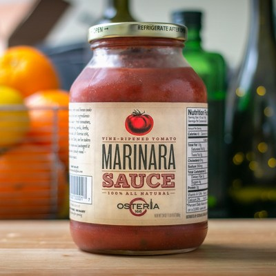Jar of Marinara Sauce