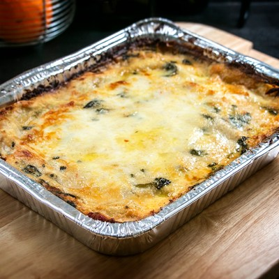 Family Style Chicken Lasagna