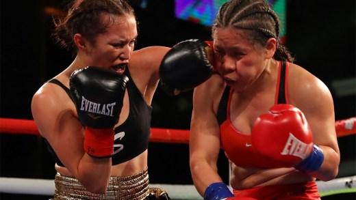 SENIESA ESTRADA DEFENDS HER WBC SILVER BELT & IMPROVES RECORD TO 17-0