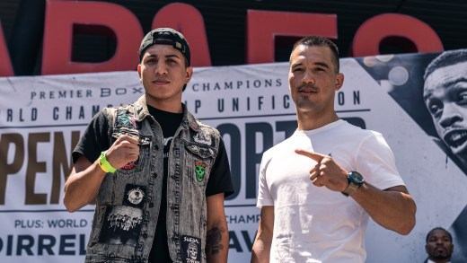 Unbeaten Rising Star Mario Barrios Meets Undefeated Batyr Akhmedov for WBA Super Lightweight Title