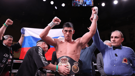DMITRY BIVOL TO DEFEND WBA 175LB TITLE ON USYK VS SPONG CARD