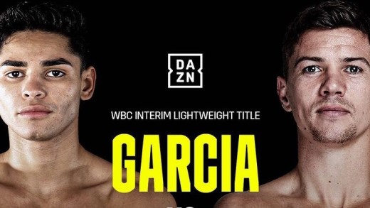 RYAN GARCIA, NEW YEAR, NEW ERA…