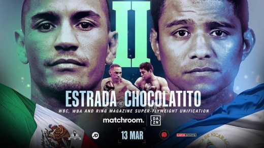 Chocolatito vs Gallo Estrada Rematch set for March 31st