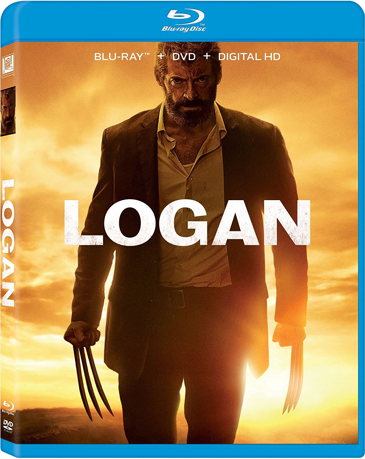 Logan DVD/Blu-Ray