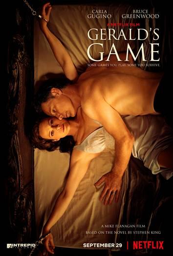 Gerald's Game, Netflix