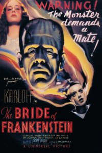 Universal Monster, Bride of Frankenstein, Universal,
