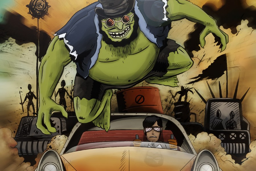 Interview: Greg Wright Talks 'Monstrous: Mad Dash' (Source Point Press)!