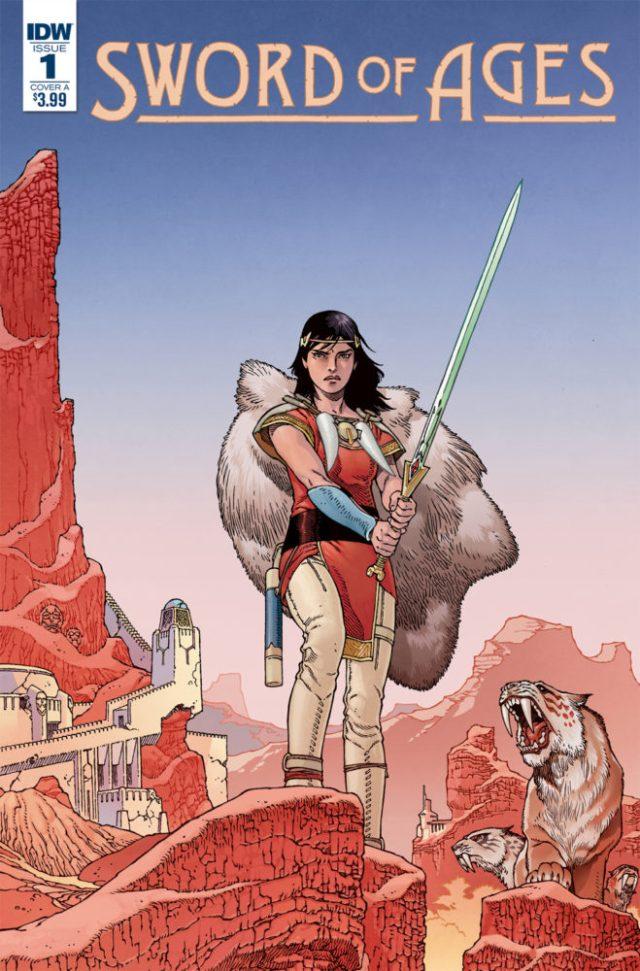 Comic Books 2017, Sword Ages #1, IDW Publishing,