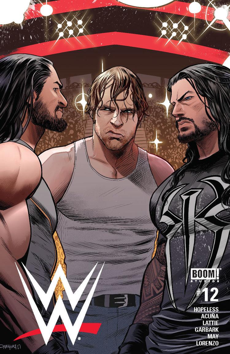 WWE #12, BOOM! Studios