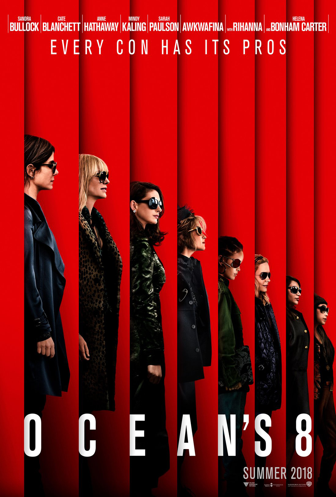 Ocean's 8 Official Main Trailer, Sandra Bullock