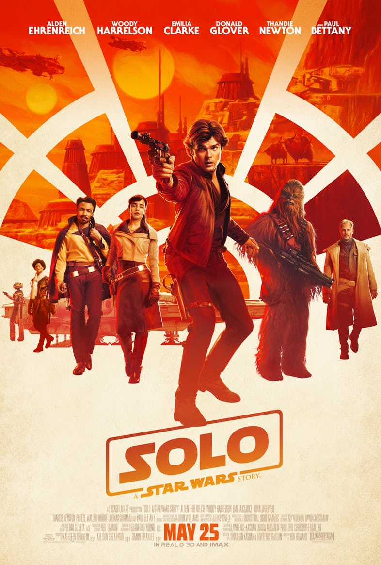 Solo Official Trailer, Star Wars Story