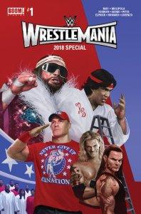 WWE Wrestlemania 2018 Special #1, BOOM! Studios