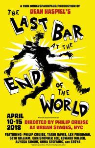 Dean Haspiel, Alyssa Simon, Last bar