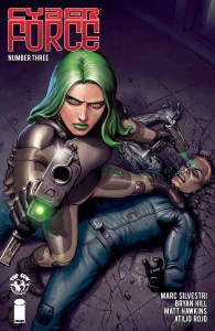 Cyber Force #3, Image Comics