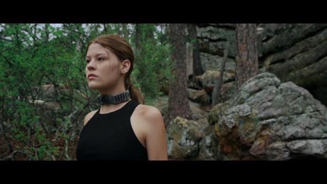 Actress Katie Burgess, Jurassic Games