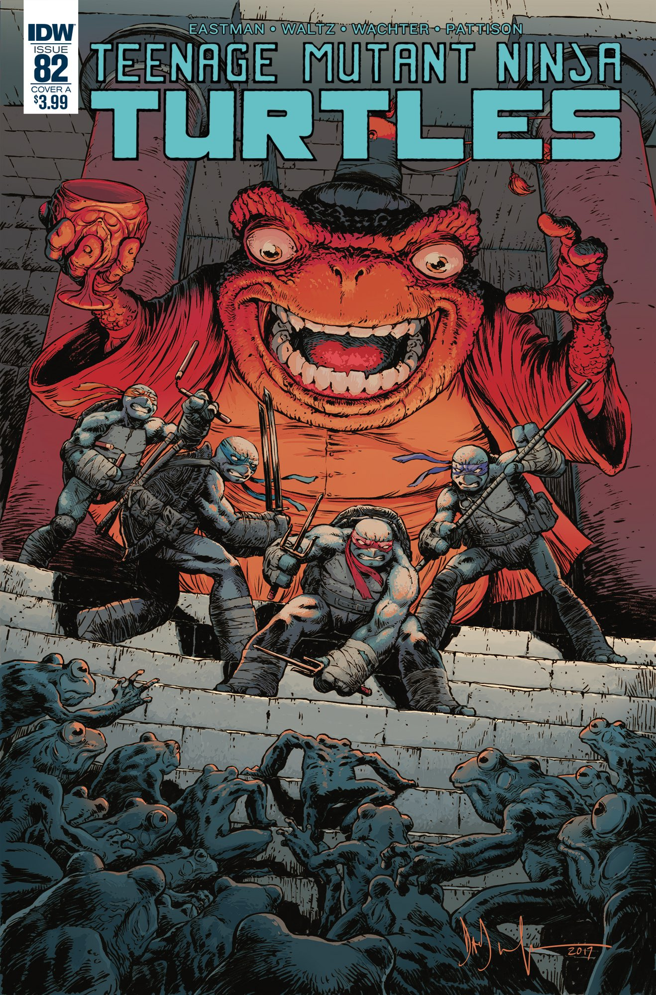 Teenage Mutant Ninja Turtles #82, IDW
