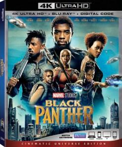 Black Panther DVD, Chadwick Boseman