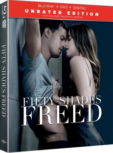 Fifty Shades Freed Unrated, DVD