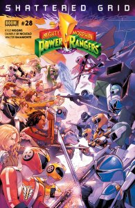 Power Rangers #28, BOOM! Studios,